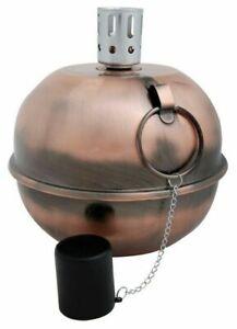 Tumble Torch (Copper) - Copper-Plated Metal, Pebbles  And Fiberglass Wick