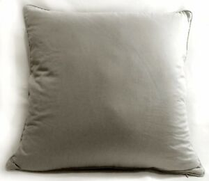 Rc507a Pale Grey Soft Pure Cotton Fabric Cushion Cover/Pillow Case*Custom Size*
