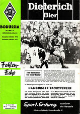 BL 27.01.73 Borussia Mönchengladbach - HSV Hamburger SV 72/73 Programmheft
