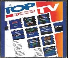 COFFRET 2 CD COMPIL 46 TITRES--LE TOP DES GENERIQUES TV--KOJAK/DALLAS/K 2000...