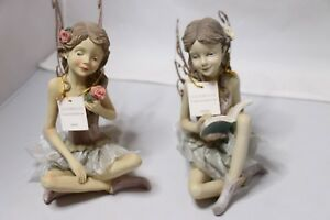 """Mission Gallery 7""""H Resin Fairy Figurine - 2060880"""