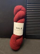 Brooklyn Tweed Vale Yarn In Vintner 1 Skein