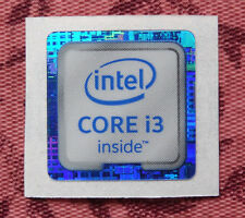 Intel Core i3 Inside Sticker 18 x 18mm 2015 Version Skylake 6th Generation