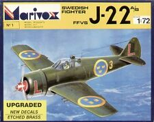 Marivox 1/72 SAAB J-22 A/B # 7201