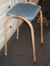 Vintage retro metal stool