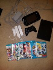 WiiU With Tablet, 3 Controls And 8 Games
