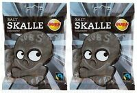 Bubs Saltskalle Jelly / Liquorice Gummy candy 90g x 2 packs 6.3oz
