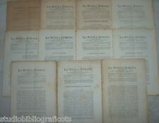 Cugnoni Castagnola LA SCUOLA ROMANA Foglio Periodico di Letteratura e Arte 1883