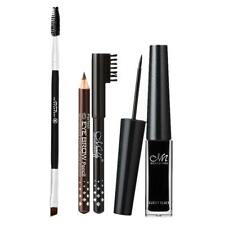 Kit Outils Maquillage aux Yeux Eyeliner Liquide+2 Crayons à Sourcils+Pinceau
