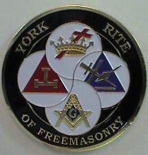 York Rite Of Freemasonry Masonic Car Bumper Sticker