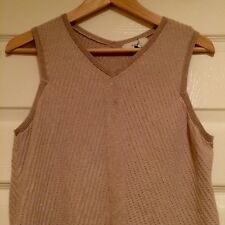 Next Fine Knit Sleeveless Top, Size 16, New Without Tags