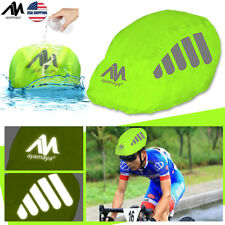 2 Pack High Visibility Bicycle Bike Helmet Rain Cover Reflective Dust Waterproof