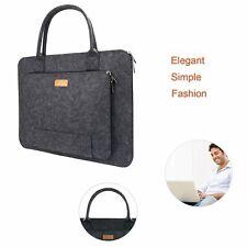 Sleeve Laptop Bag 17.3 Inch Zippered Case Handle Notebook Briefcase Dark Grey
