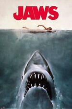 "Jaws - Movie Poster (Regular Style / Key Art) (Size: 24"" x 36"")"