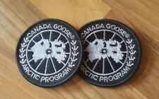 Canada goose limited edition black silver badge patches
