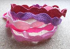 Bracelet Pink Purple Red Friendship Hippie Woven Tie Knot Festival Wristband