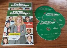 Parks and Recreation: Season Six (DVD, 3-Disc Set, 2014) 6 Amy Poehler comedy