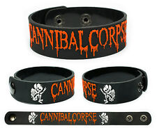 Cannibal Corpse wristband rubber bracelet