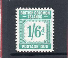 Br. Solomon Isles GV1 1940 postage due 1s.6d. sg D8 H.Mint
