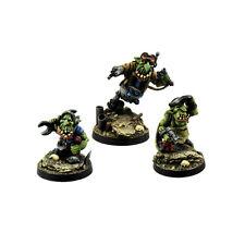Ork War2 Goblin Grease Monkeys Assistenten Kromlech Resin KRM069