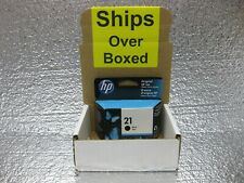 HP 21 Black Ink C9351AN Genuine New *** SHIPS OVERBOXED *** Date: January 2022