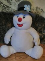 """GEMMY"" FROSTY THE SNOWMAN LARGE  27"" PLUSH - TUNE - ""FROSTY THE SNOWMAN"""
