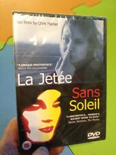 La Jetee/Sans Soleil-Chris Marker Films(R2 DVD)New+Sealed Sci Fi French/English