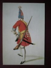 POSTCARD 1ST REGIMENT OF FOOT 1735 - THROW YOUR GRANADE