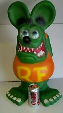Rat Fink Ed Big Daddy Roth Statue, Kustom Kulture Art Aluminum 24 inches garage
