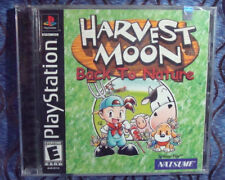 Harvest Moon Back to Nature Sony PlayStation PS1 2000 NEW SEALED PARTY GAME RARE