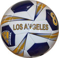 Vizari Los Angeles Soccer Ball, White/Blue/Yellow, Size 5