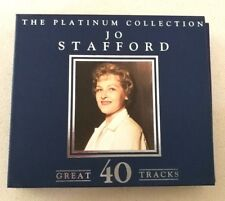 2CD Jo Stafford THE PLATINUM COLLECTION - 40 great tracks