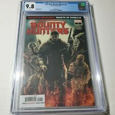 Star Wars Bounty Hunters 1 Boba Fett Cover CGC 9.8 White Pages Marvel 5/20 HOT