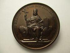 VATICANO MEDALLA ANUAL OFICIAL PAPA LEON XIII AÑO II 1879 - BRONZE