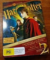 Harry Potter YEAR TWO COLLECTOR'S EDITION COMPLETE Chamber of Secrets  R4 VG