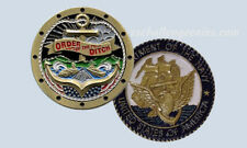 Order of the Ditch - Transit the Panama Canal Challenge Coin US Navy Submarine