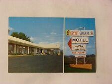 Vintage Unused Postcard ~ De Witt's ~ Keydet-General Motel ~ Lexington Viginia