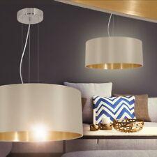 Lampada Soffitto Sospensione Cucina Salotto Camera Letto Luce Marrone Oro Design