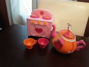 Lalaloopsy Tea Set and Oven EUC
