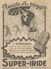 W1117 SUPER-IRIDE - Resiste alla pioggia - Pubblicità 1926 - Vintage Advert