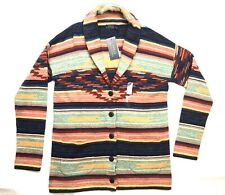 Polo Ralph Lauren S Aztec Southwest Print Cotton NWT Shawl Cardigan Sweater
