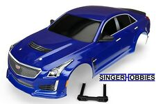 Traxxas 8391A Body Cadillac CTS-V 4-TEC 2.0 blue (painted, decals applied) TRA1