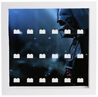 Lego Minifigure Display Case Frame Star Wars Darth Vader minifigs
