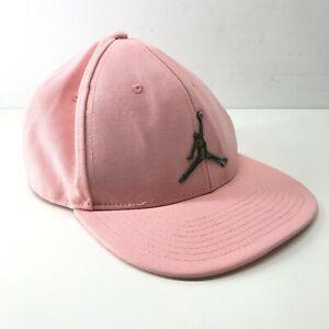 Nike Air Jordan Jumpman Pink Snapback Hat Youth Size