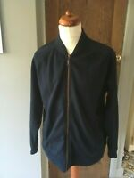 Mens Hammond & Co @ Debenhams Navy Blue Zip Up Jacket Large