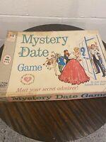 Mystery Date Board Game Original Vintage 1965 Milton Bradley #4502 Missing Dice