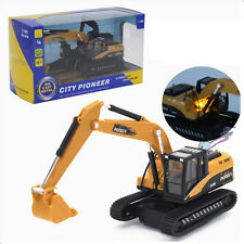 1:50 Inertial Truck alloy Car Model Toy Excavator Kids Digger Toy  Kids Toy