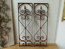 U4133 ~ 2 Window Bars ~ Balkongitter~Trellis~Art Nouveau~Wrought Iron