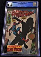 AMAZING SPIDER-MAN #86 *KEY* CGC 6.5 FINE+: BLACK WIDOW