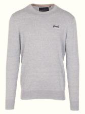 Superdry señores suéter Sweater punto talla M premium Knitwear azul 88211